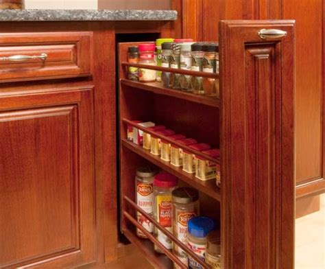Kitchen Cabinet Spice Organizers Kitchen Cabinet Pull Ou Spice Rack Cabinet And Drawer Organizers Baltimore By Grandior