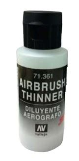 Home Depot Vallejo by Vallejo Paints 60ml Bottle Airbrush Thinner