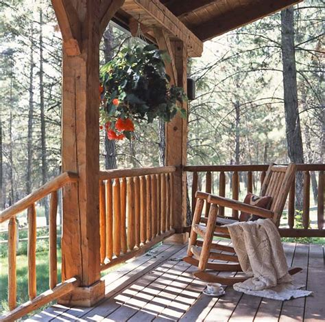 log cabin front porch swing log cabin love pinterest jack hanna s log cabin front porch hooked on houses