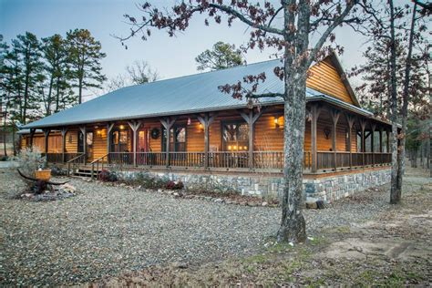 ideas log cabin homes with wrap around porches best