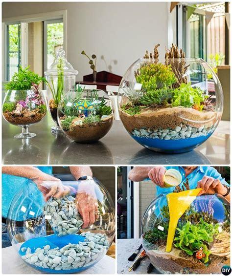Diy Gardening Ideas 10 Diy Mini Terrarium Garden Ideas And Projects Gardens Look At And Gardening