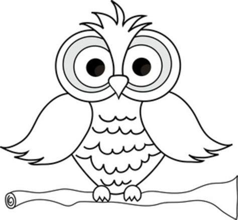 coloring pages of big owl cute owl coloring pages large feathers pinterest