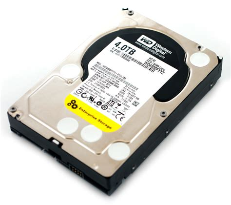 Harddisk Wd wd re 4tb enterprise drive review wd4000fyyz