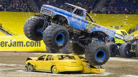how long does monster truck jam last monster jam driver moves from crew to behind the wheel