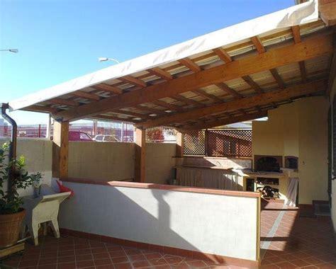 tettoie per terrazzi in legno coperture in legno per terrazzi pergole e tettoie da