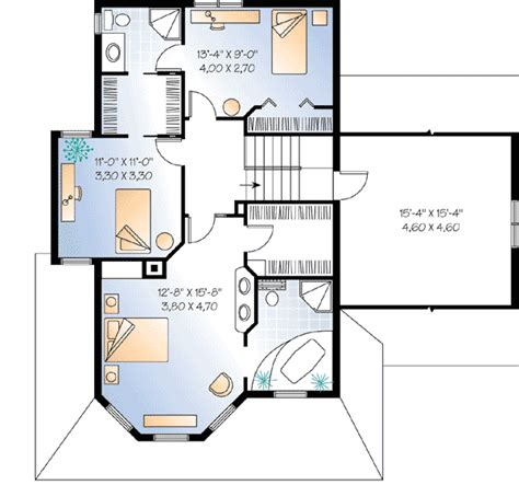 guest house plans free compact guest house plan 2101dr 2nd floor master suite