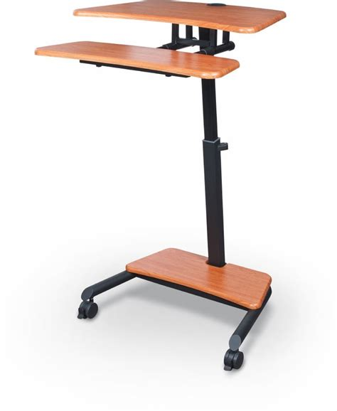 Sit Stand Desks Up Rite Workstation Height Adjustable Sit Stand Desk