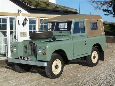 1970 land rover for suf 484h 1970 tax exempt series 2a refurbishment just