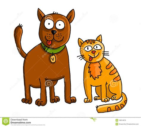 and cat clip feline clipart pet animal pencil and in color feline