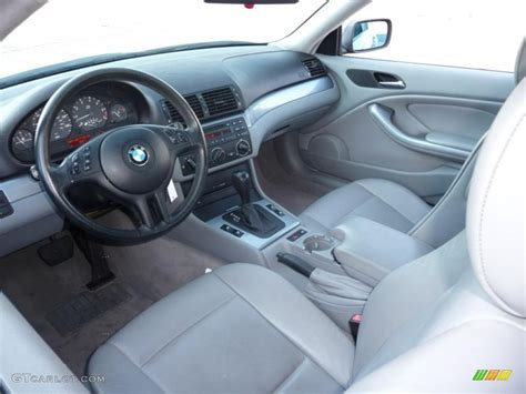 2001 Bmw 3 Series Interior grey interior 2001 bmw 3 series 325i coupe photo 40726866