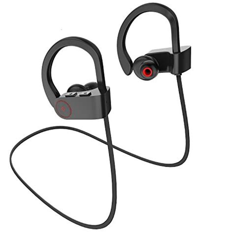 Headset Bluetooth Nike merdumia wireless bluetooth headphones noise cancelling sport headset with mic and secure ear