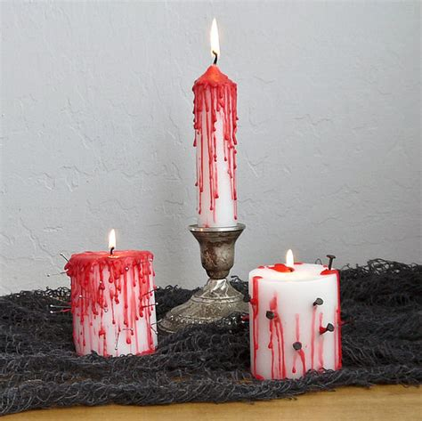 Diy Bloody Candles by Creepy Diy Bloody Candles Better