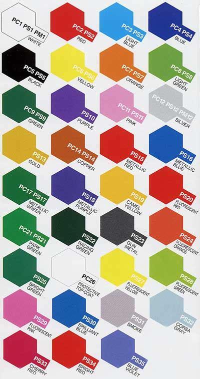 tamiya model kit polycarbonate paint pc 23ml series ebay