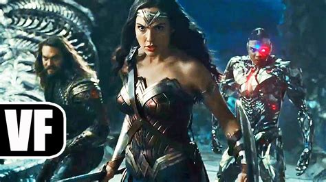 justice league en film justice league bande annonce vf du film 2017 ben affleck