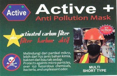 Wsd5 Masker Merk Maskr Type Pendek jual masker pendek merk active anti pollution mask type toko lenny