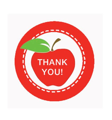 Apple Thank You Card Template by Thursday Is Thank You Note Day Pta News Grady