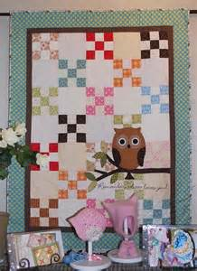 Owl Baby Quilt Pattern by Baby Quilt Owl We Are The World