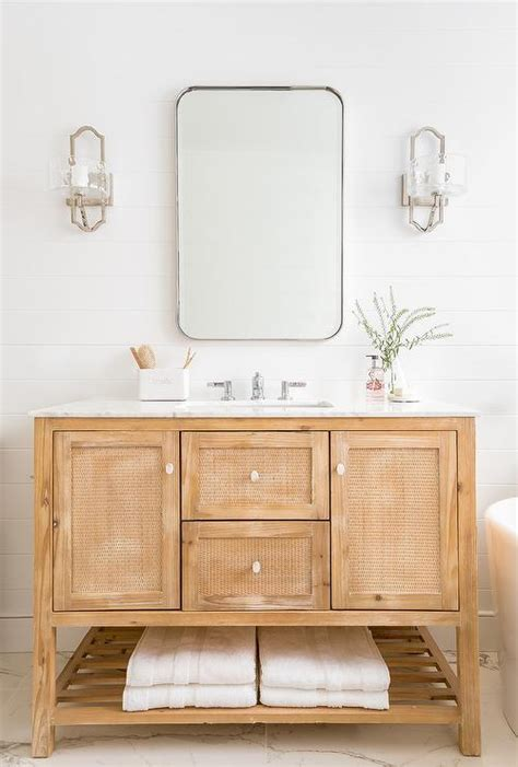 White Wood Bathroom Vanity by Light Wood Bathroom Vanity Bathroom Vanities And Vanity