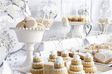 picture of charming winter bridal shower ideas 24