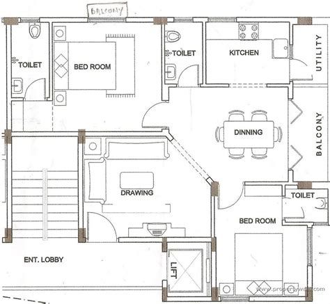 Gulmohar City Kharar Mohali Chandigarh Home Plan Floor Small House Plan Map
