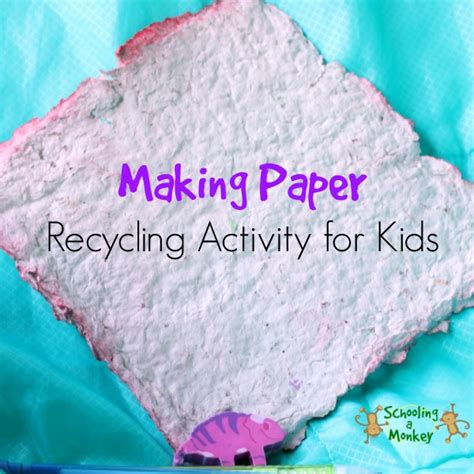 How To Make Recycled Paper At Home For - how to make recycled paper at home
