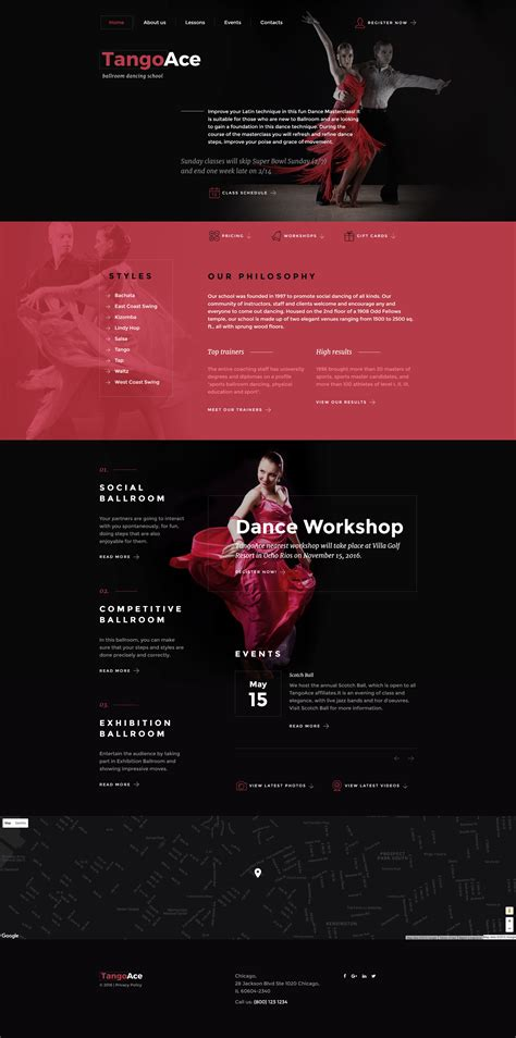 Studio Templates Free by Academy Website Template