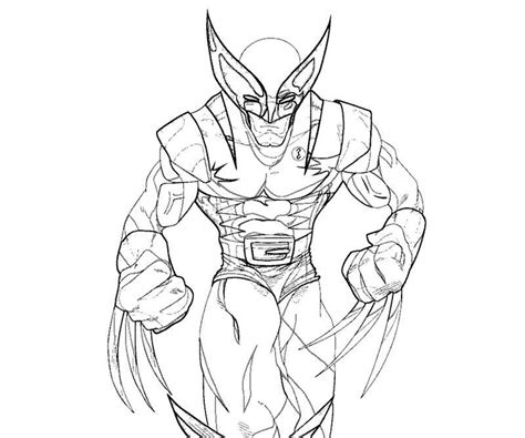 wolverine coloring pages for free free coloring pages of wolverine and the