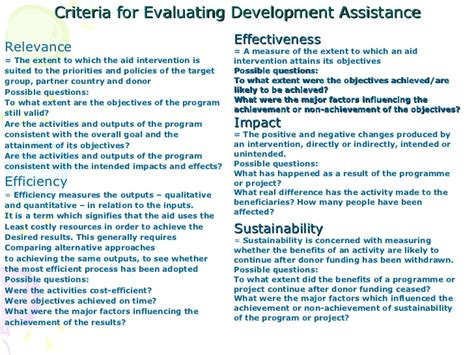 project evaluation project monitoring evaluation