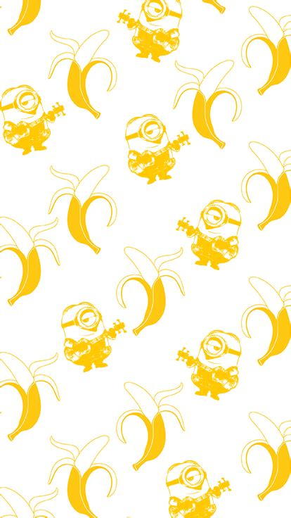 bananas wallpaper tumblr minions