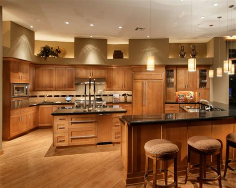 FireRock Custom Home Warm Modern   Modern   Kitchen