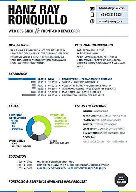 Web Design Resume by Best 25 Web Designer Resume Ideas On