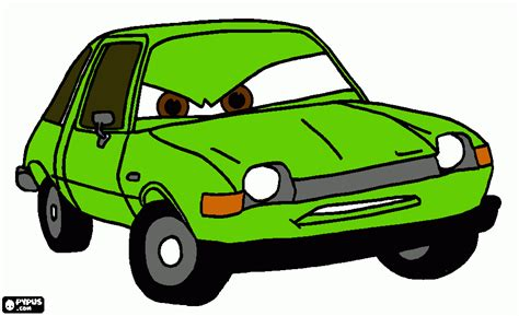 cars 2 coloring pages grem free coloring pages of professor z cars 2