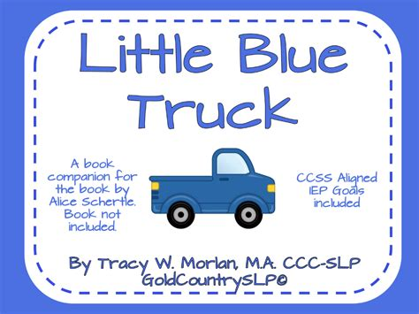 blue truck s springtime books getting quot speechie quot with a book blue truck
