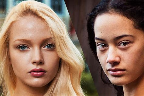 all of these young women in 2015 buzzfeed these are the results when you photograph female beauty in