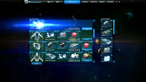 tutorial warframe warframe tutorial foundry and blueprints how to build