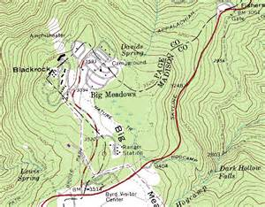 topo map wandering virginia virginia topographic maps
