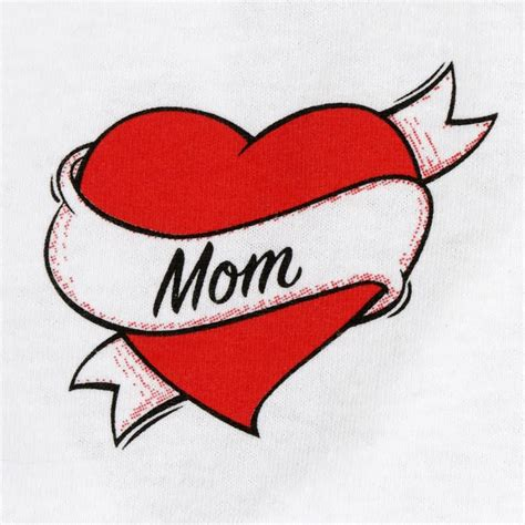 mom heart tattoo 35 amazing designs