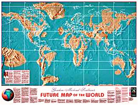 the future map of america possible maps of the future