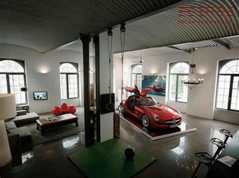 car in living room cool garage http www recomfarmhouse com the mopar