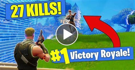 kill record  solo kills  fortnite battle
