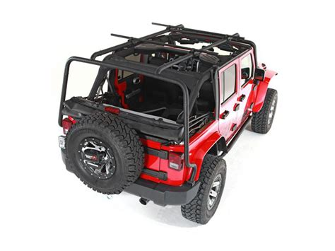 Sherpa Roof Rack System by Storage Cargo Rugged Ridge Om 11703 01 Rugged