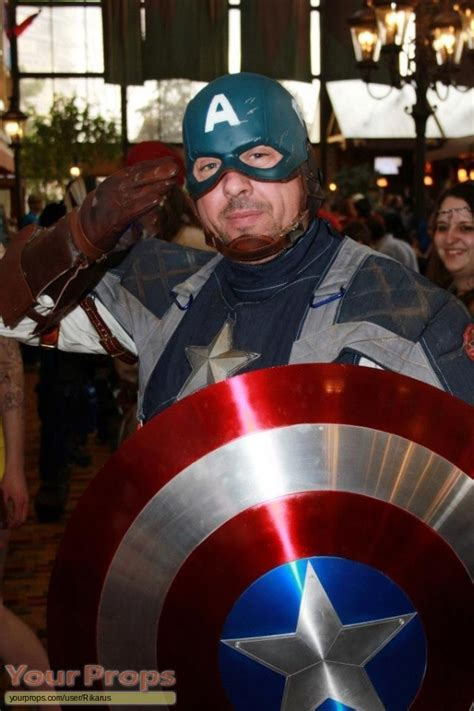 Captain America Wardrobe by Captain America The Avenger Starfest 2013 Made From
