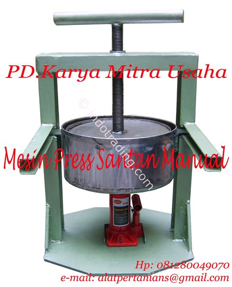 Mesin Press sell coconut milk press machine manual from indonesia by pd karya mitra usaha cheap price