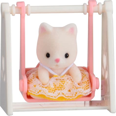 Swings Katze by Sylvanian Families Small Box Cat At Swing 5201 At