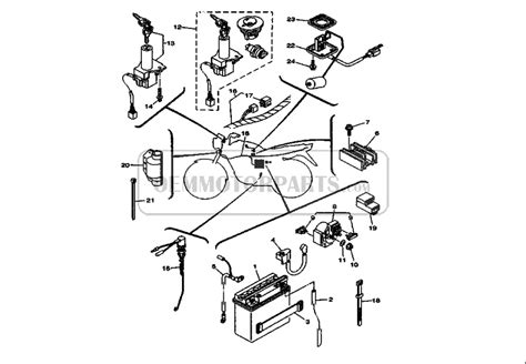 yamaha bolt wiring diagram wiring diagram with description