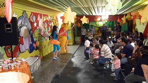 imagenes de fiestas infantiles de winnie pooh winnie pooh fiesta infantil local quot la campana quot youtube