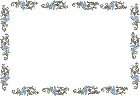 cornici per foglio word cornice pergamena imagui