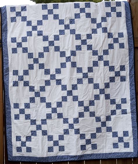 And Blue Quilt by Closed Auction Item 46 Handmade Blue Quilt 48 215 60