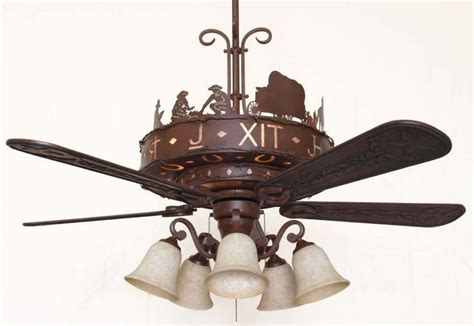 copper canyon western trails ceiling fan rustic lighting