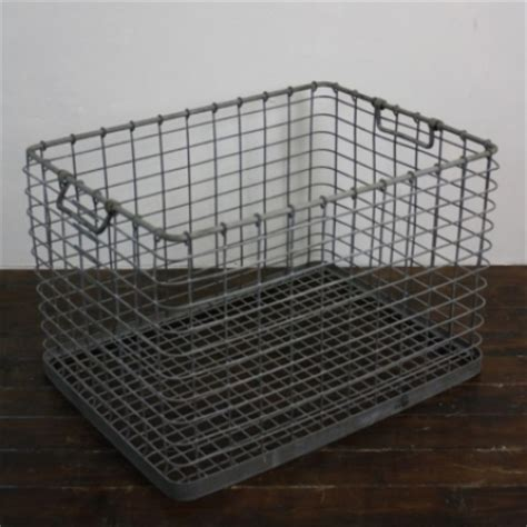large metal crate vintage industrial galvanized large metal crate lovely and company